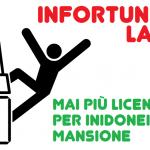 Infortunio sul lavoro - No a licenziamento per inidoneità