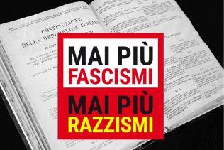 Mai più fascismi - Mai più razzismi - 24 febbraio 2018 a Roma