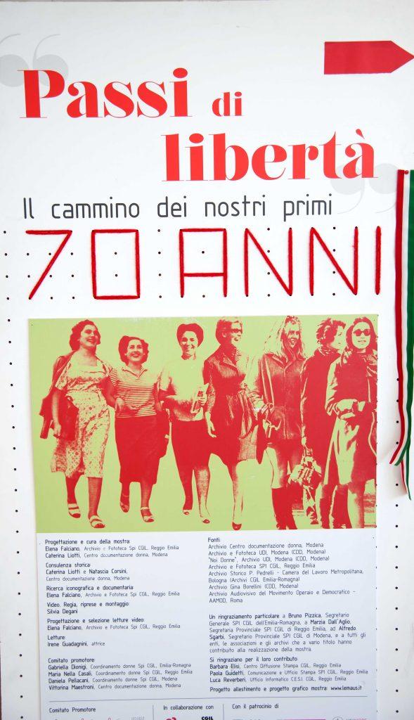 Dis/Parità. Donne e lavoro dalla Costituzione ad oggi, Mirandola 9.3.18