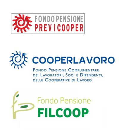 Previcooper Cooperlavoro Filcoop