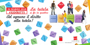 Patronato Inca Cgil il 24 marzo 2018 in piazza