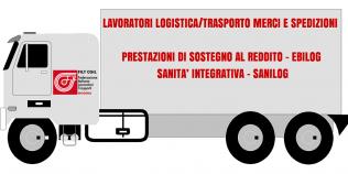 Prestazioni sostegno al reddito, sanità integrativa - Lavoratori logistica/trasporto merci