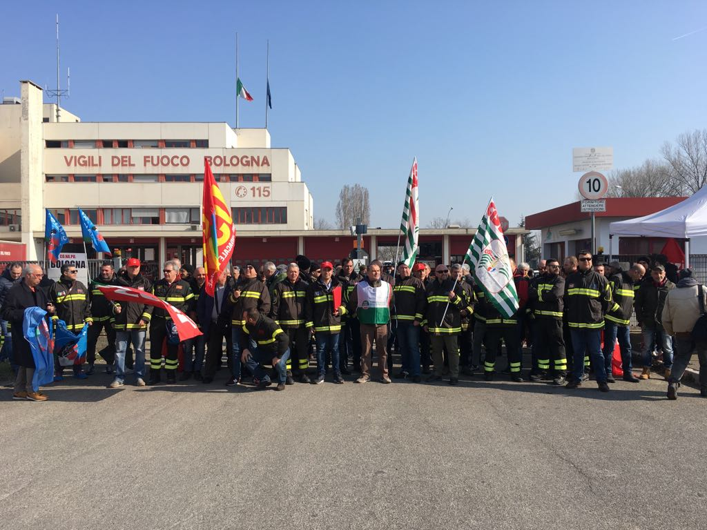 sciopero vigili fuoco 26.3.18