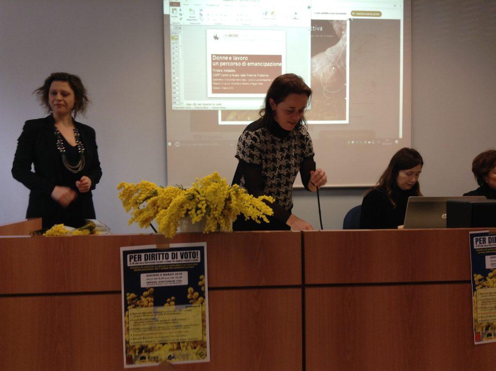 iniziativa su donne e lavoro, 8.3.18