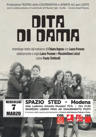 Dita di dama, Modena 7.3.18