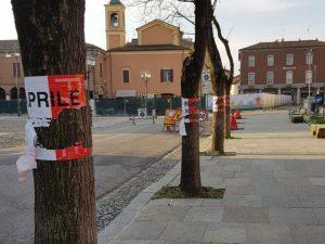 Formigine: atti vandalici manifesti 25 aprile