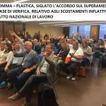 ccnl gomma-plastica, accordo fase verifica incrementi salariali - 3/5/2018
