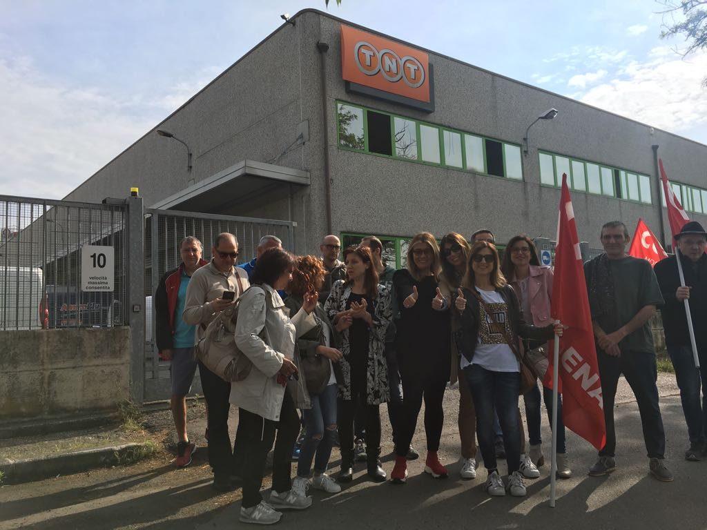 Sciopero nazionae Fedex/Tnt - 17/5/2018 - Modena