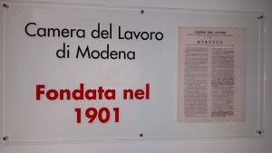 Camera del Lavoro di Modena, fondata il 23 maggio 1901