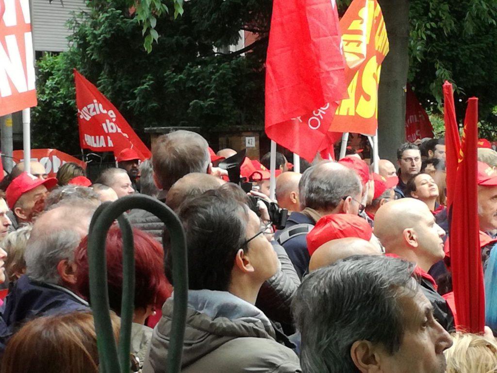 sciopero Cgil 10.5.18