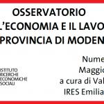 Modena, rapporto Ires 2018 - numero 10