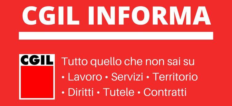 Cgil informa
