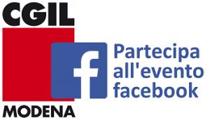 Cgil Modena - Partecipa all'evento Facebook