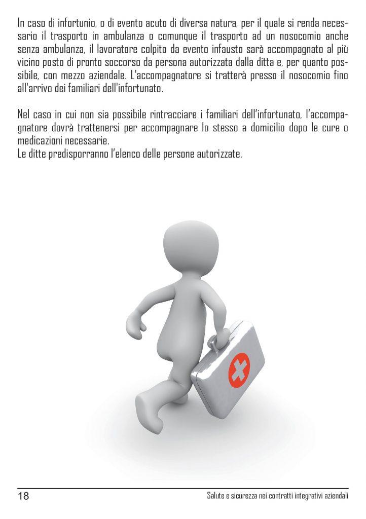 Linee guida Cgil Modena contrattazione salute e sicurezza sul lavoro