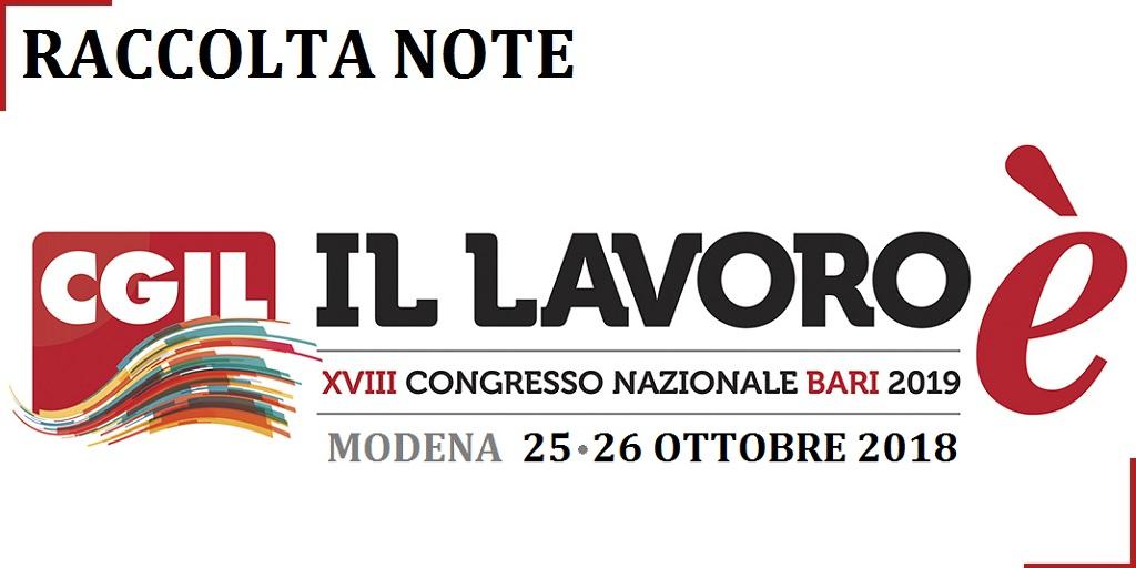 XVIII Congresso CGIL Modena