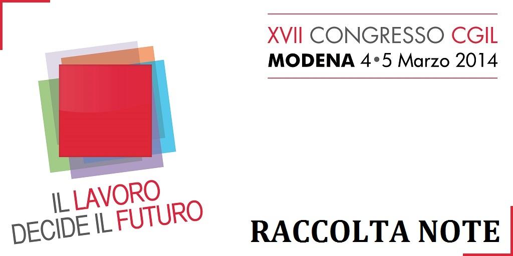 XVII Congresso CGIL Modena
