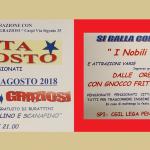 Festa di agosto 2018 dei pensionati a Carpi