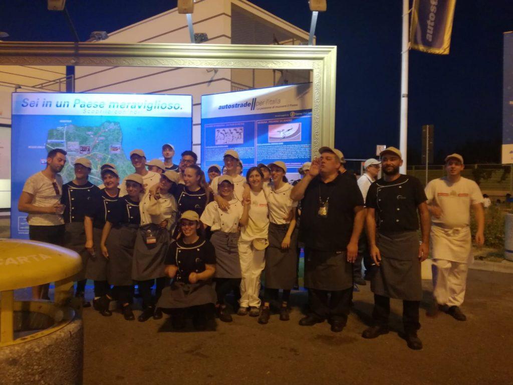Sciopero Autogrill Secchia Ovest Modena - 3/8/2018