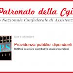 previdenza pubblici dipendenti
