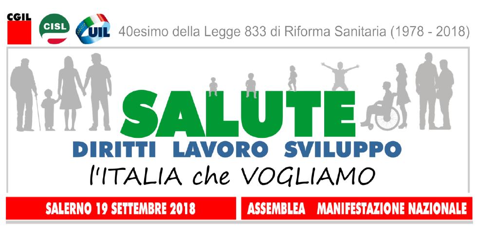 Salute Diritti Lavoro Sviluppo: l'Italia che vogliamo