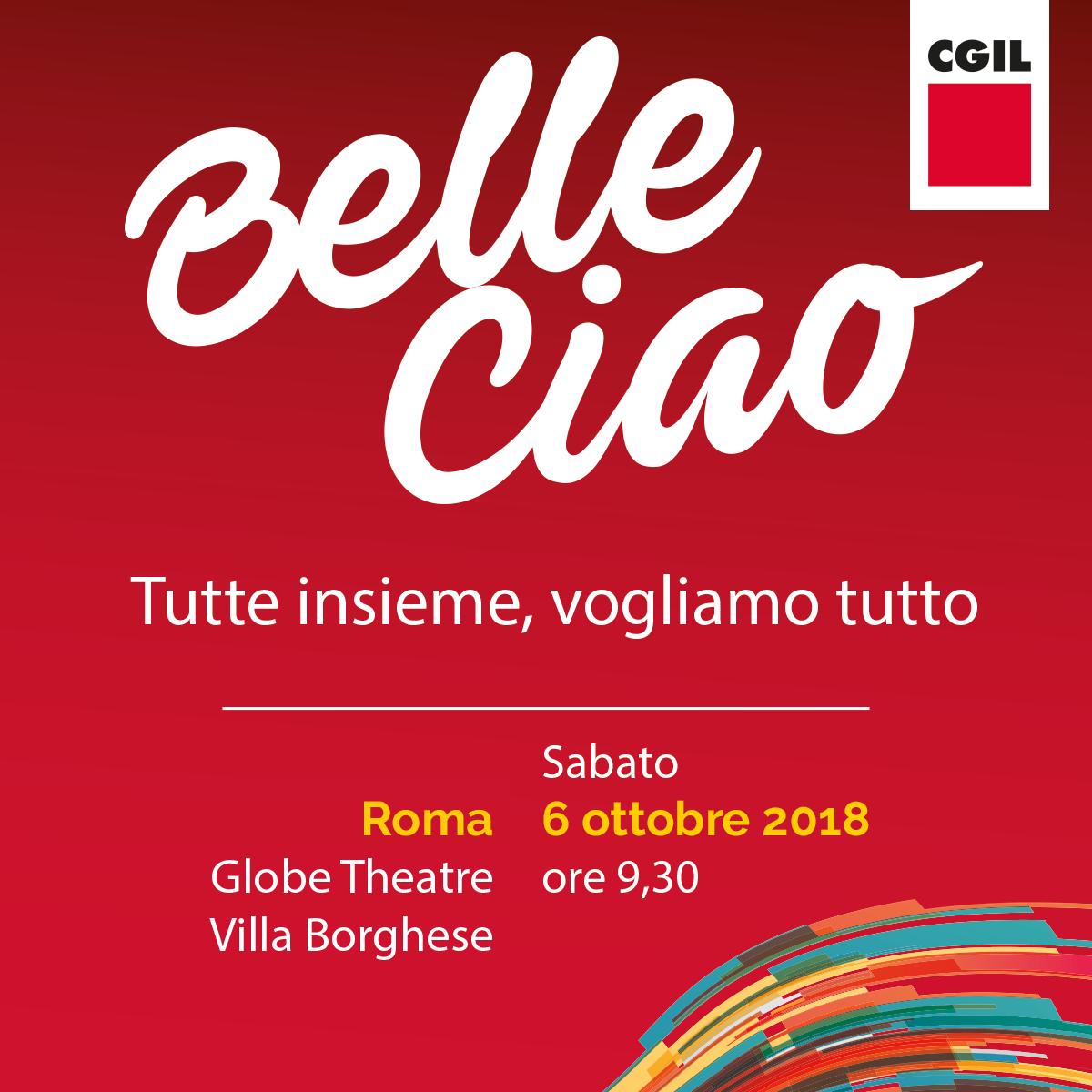 Belle Ciao - Parità di genere protagonista al congresso Cgil 2018