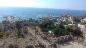 Amsit a metà fra Beirut e Tripoli (Libano)