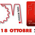 22° congresso Fiom Cgil Modena - 17 e 18 ottobre 2018