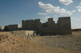 ospedale Makhmura in costruzione