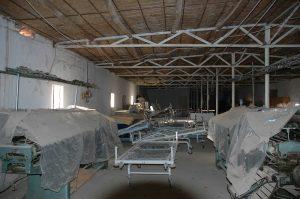materiale sanitario da Modena per l'ospedale di Makhmura