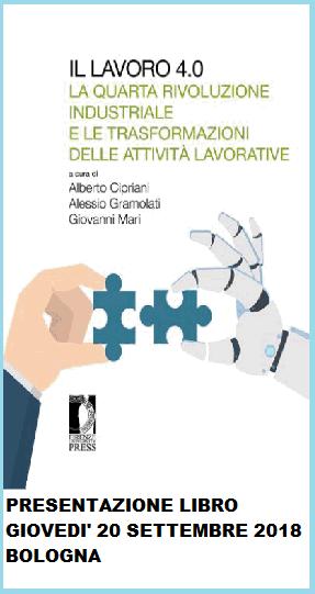 Il lavoro 4.0, 20.9.18 Bologna