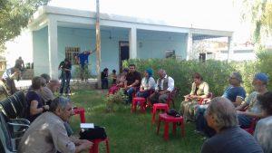 Incontro con tutta la giunta del Municipio di Mahmura, 1.10.18