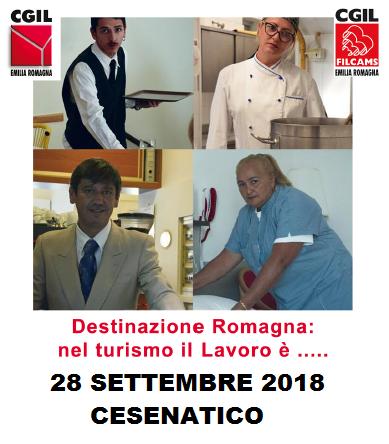 Destinazione Romagna. Nel turismo il lavoro è, 28.9.18