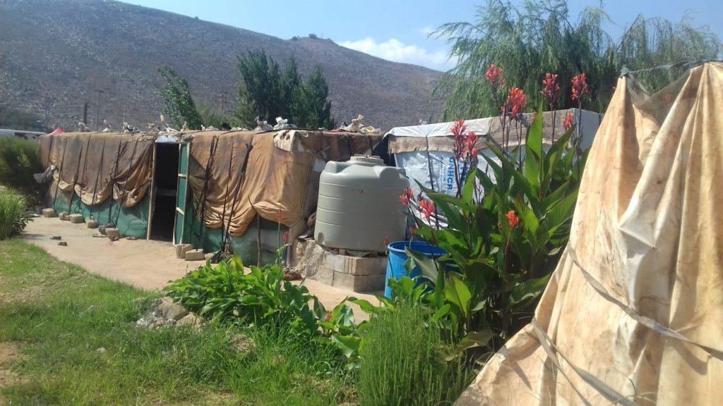 campi profughi fuggiti dalla Siria, 17.9.18
