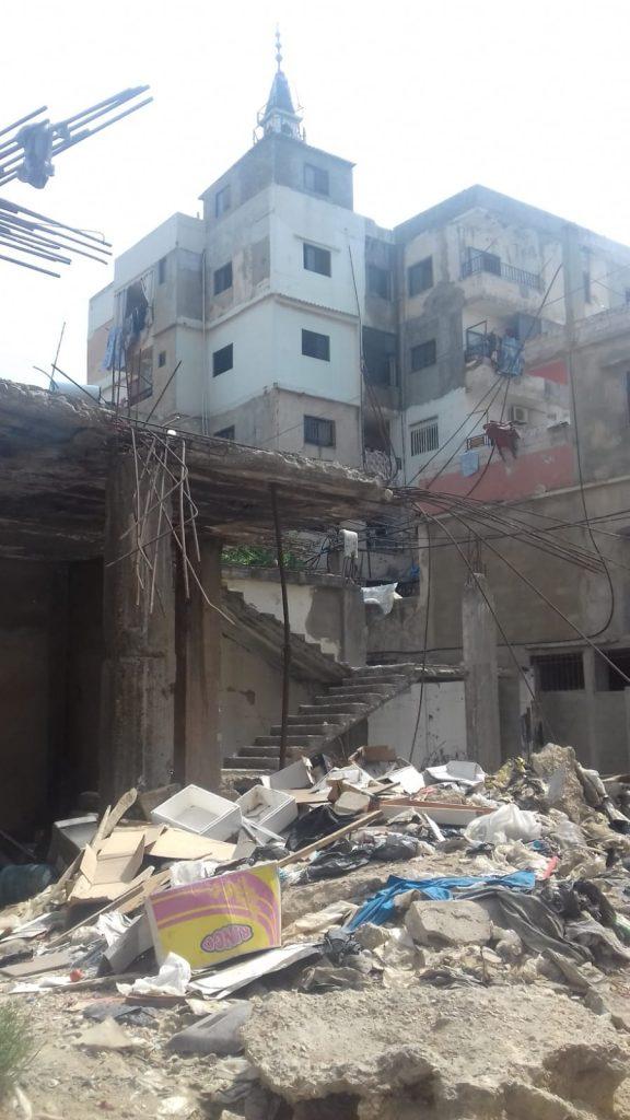 distruzioni e ricostruzioni Nahr El Bared Camp, 20.9.18