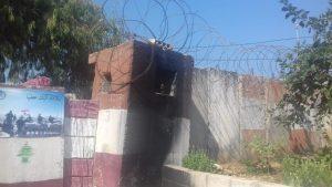 check point Nahr El Bared Camp nel Nord Libano, 20.9.18