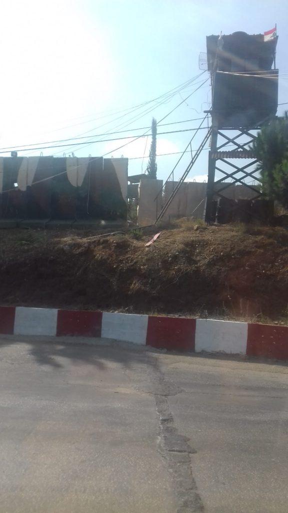 campo profughi di Nahr El Bared Camp a Nord di Tripoli, check point e centro infanzia ricostruito di recente, 20.9.18