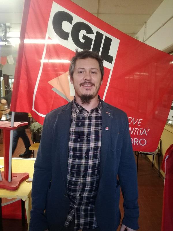 Alessandro Cambi segretario Nidil