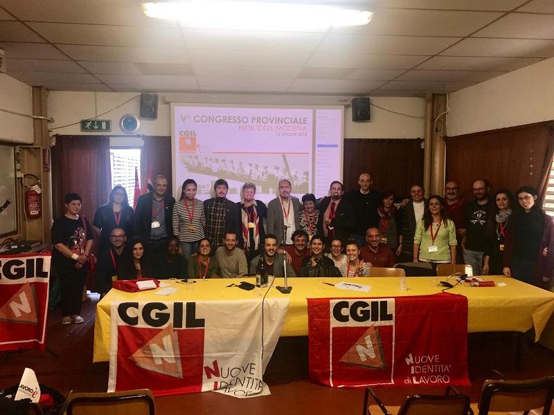 Assemblea congressuale Nidil Cgil