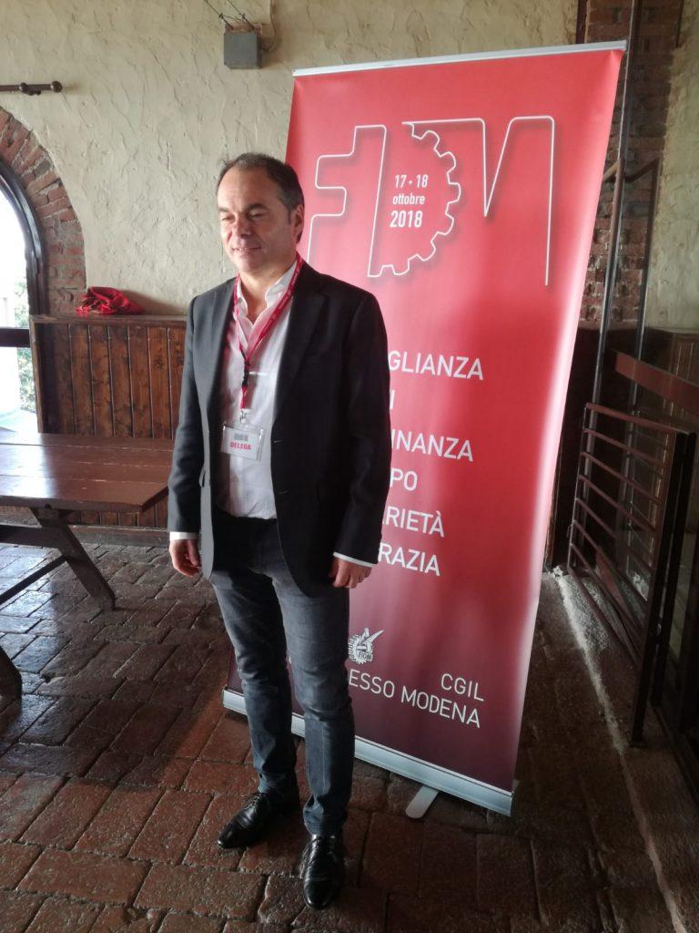 Cesare Pizzolla segretario Fiom Cgil