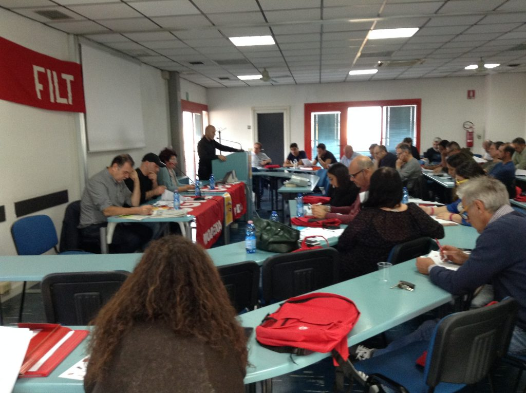 congresso Filt Cgil Modena, 10.10.18