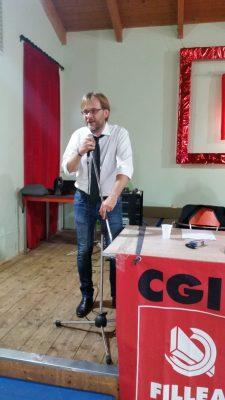 Marcello Beccati segretario Fillea Cgil