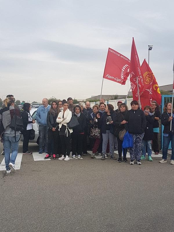 Sagemcom sciopero 1.10.18