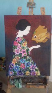 Mahmura prodotto artigianale delle donne, 2.10.18