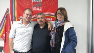 Balili con il segretario Cgil Manuela Gozzi