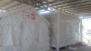 campo di Arbat il totale blocco chiusura della già piccola struttura sanitaria