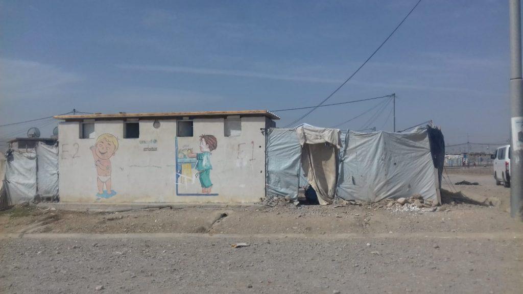 campi profughi ad Arbat nella zona di Suleymanhia, 5.10.18