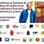 petizione associazioni modenesi per mimmo lucano