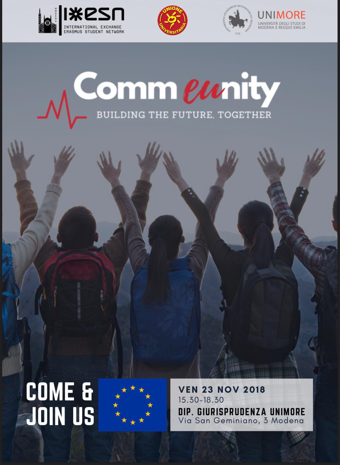 iniziativa Udu Europa 23.11.18