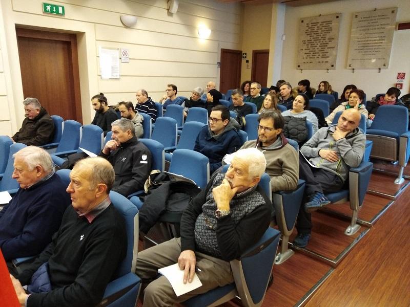 Attivo unitario Cgil Cisl Uil FRIGNANO, 12.12.18