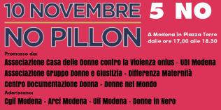 NO ddl Pillon - 10 novembre 2018